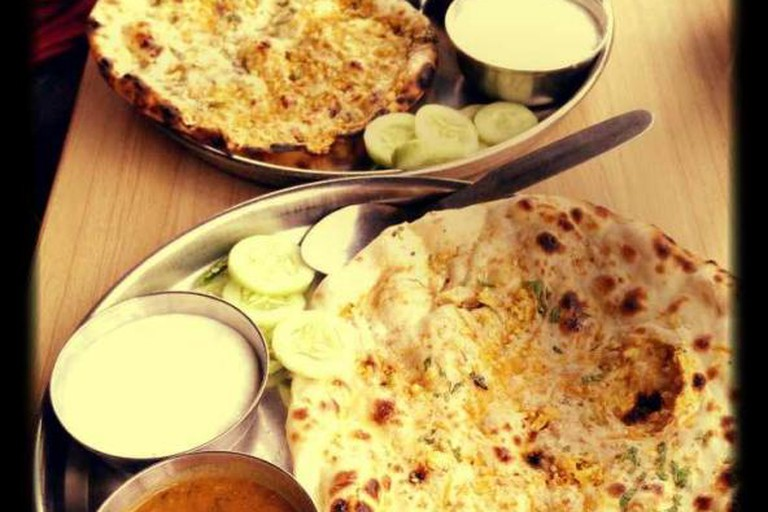 Aloo Paratha with Dahi