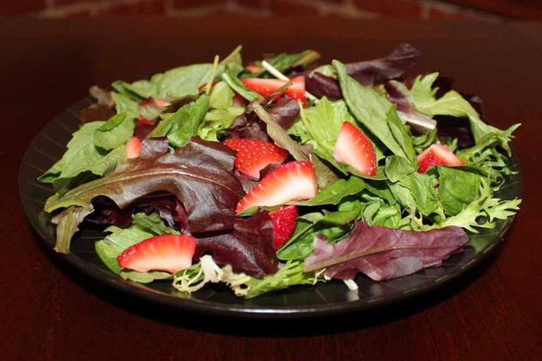 Strawberry and Basil Salad