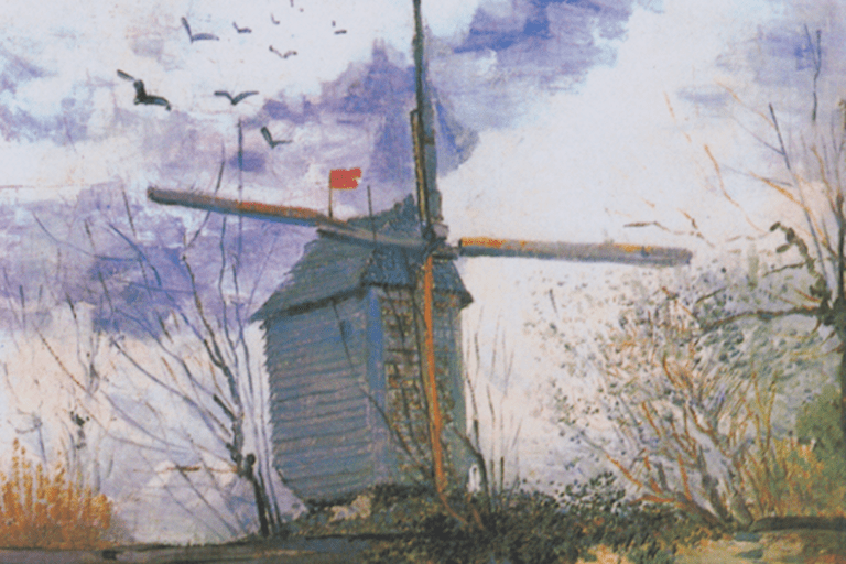 Le Moulin de la Galette, Van Gogh