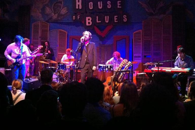 House of Blues NOLA Iron and Wine