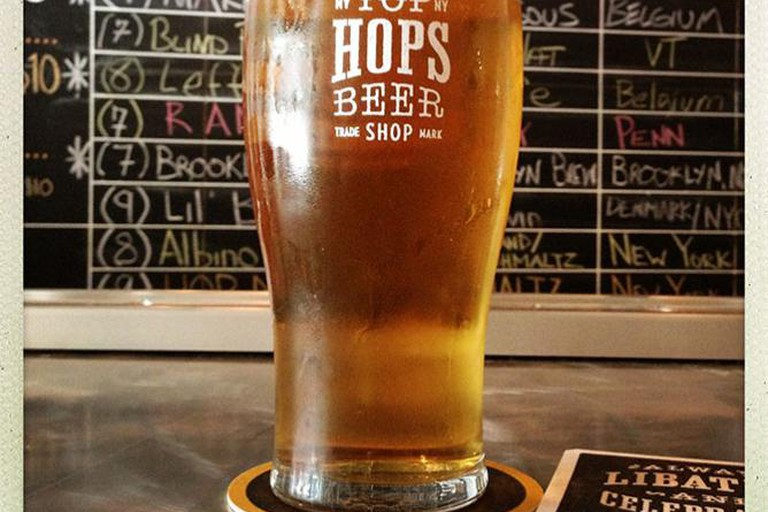 Quench Your Thirst with a Tall Cold One at Top Hops