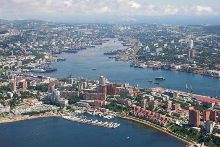 Vladivostok Golden Horn Bay