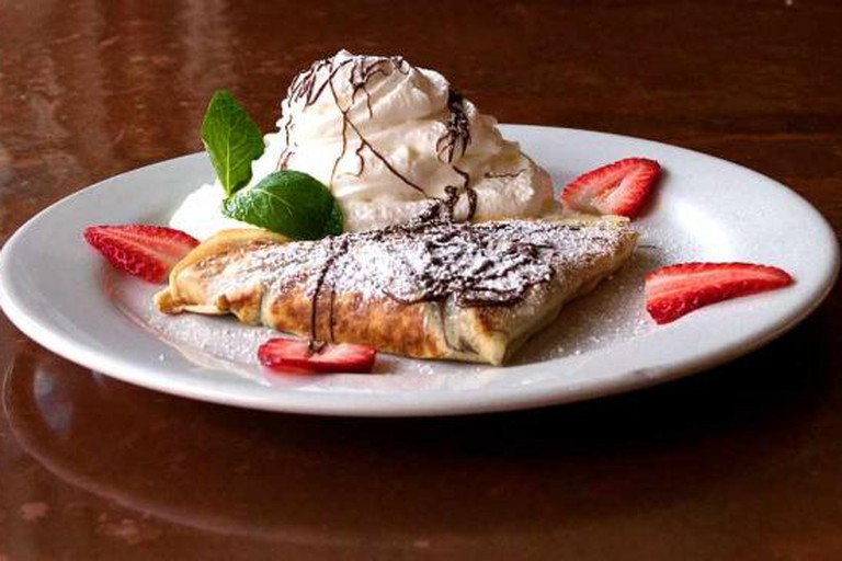 Crepeville: Peanut Butter and Nutella