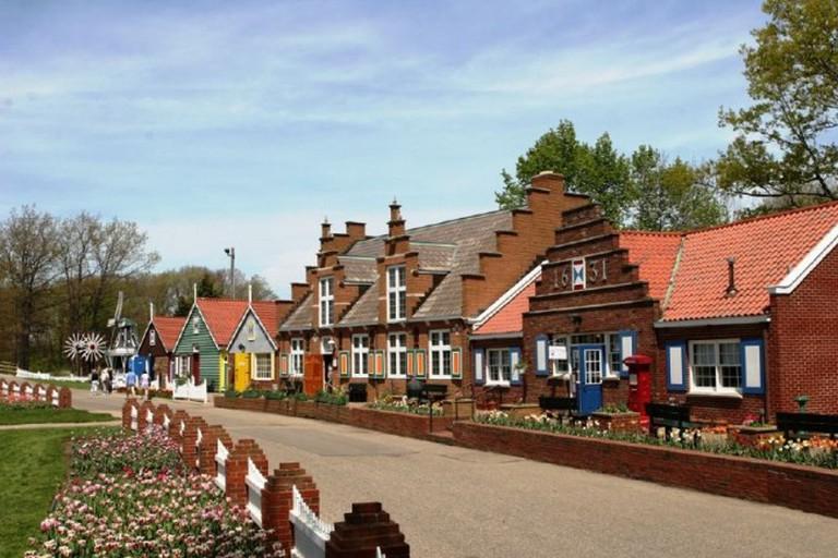 Windmill Island in Holland, MI