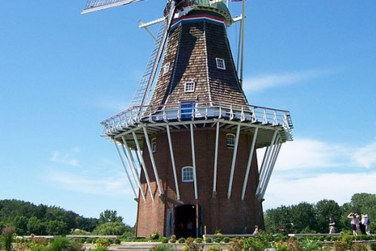 The DeZwaan Windmill in Holland, MI