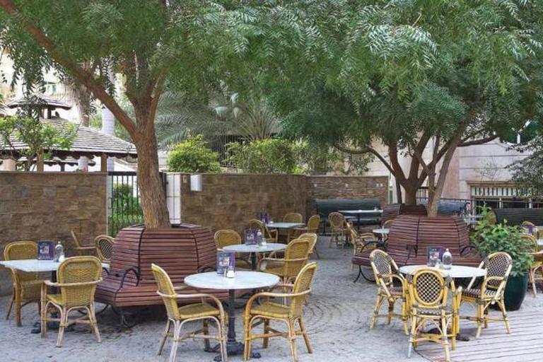 More Café's terrace