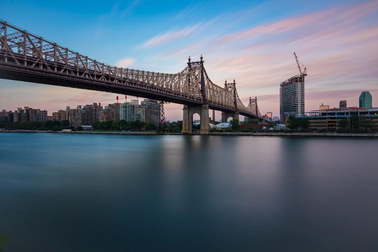 Queensboro Bridge during Sunset