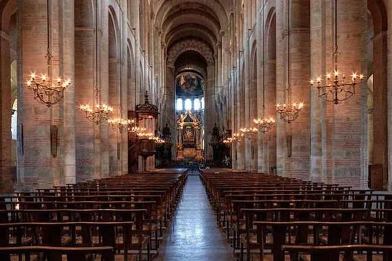 Nave Basilique Saint Sernin