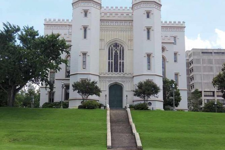 Louisiana Old State Capitol - Farragutful