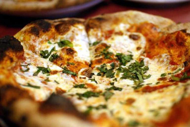 Brick Oven Margherita Pizza