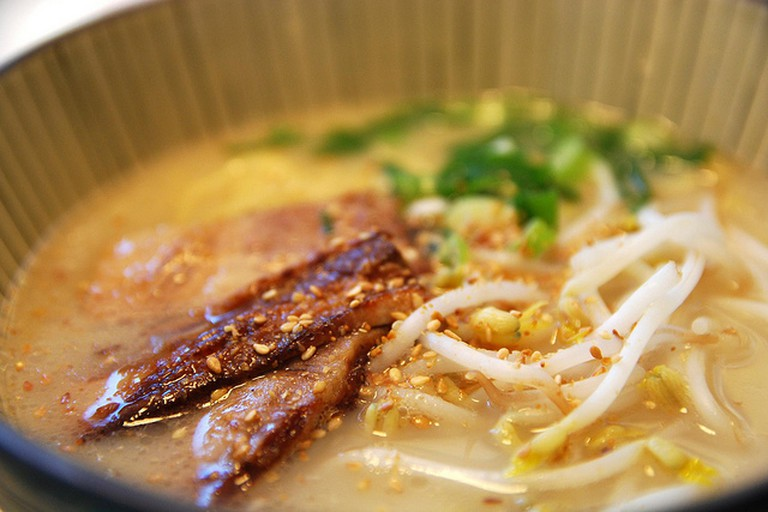 Japanese pork soup