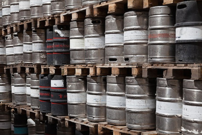Wall of Kegs