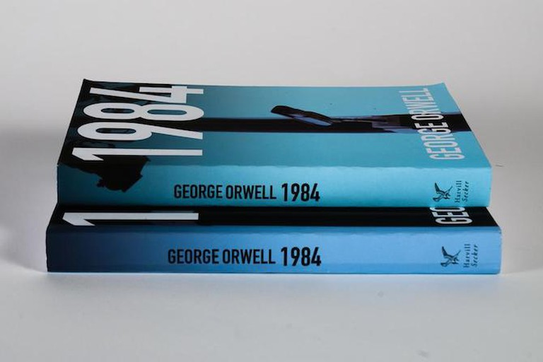 Copies of the book 1984