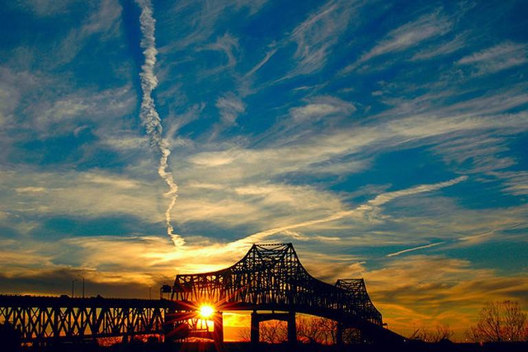 The Horace Wilkinson Bridge in Baton Rouge