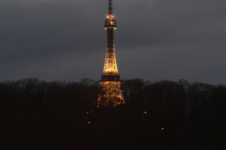 Petřín Lookout by Night