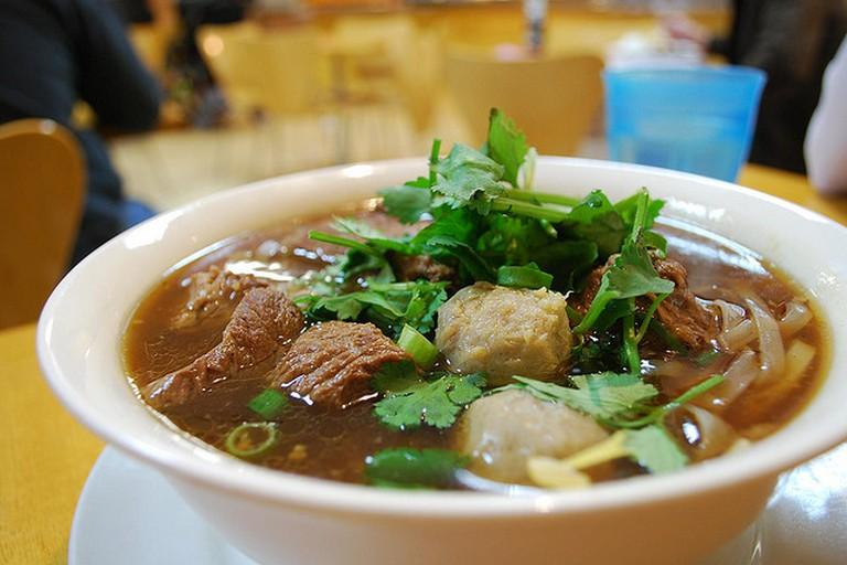 Thai Beef Noodle Soup - Spicy Noodle