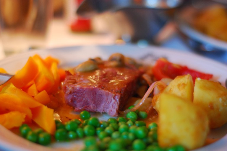 Ham Steak Mocambo Kolkata