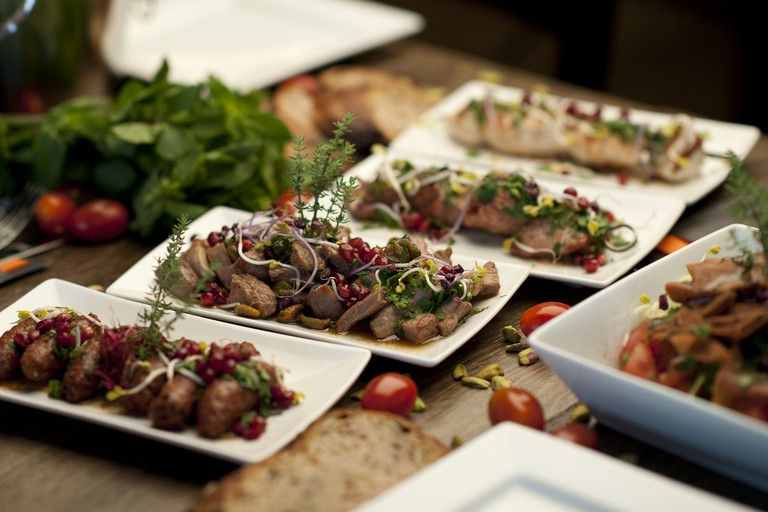 Delicious finger food created by Georges Baghdi Sar