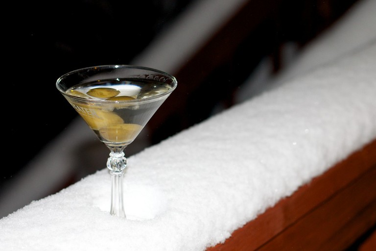 Chilled Martini