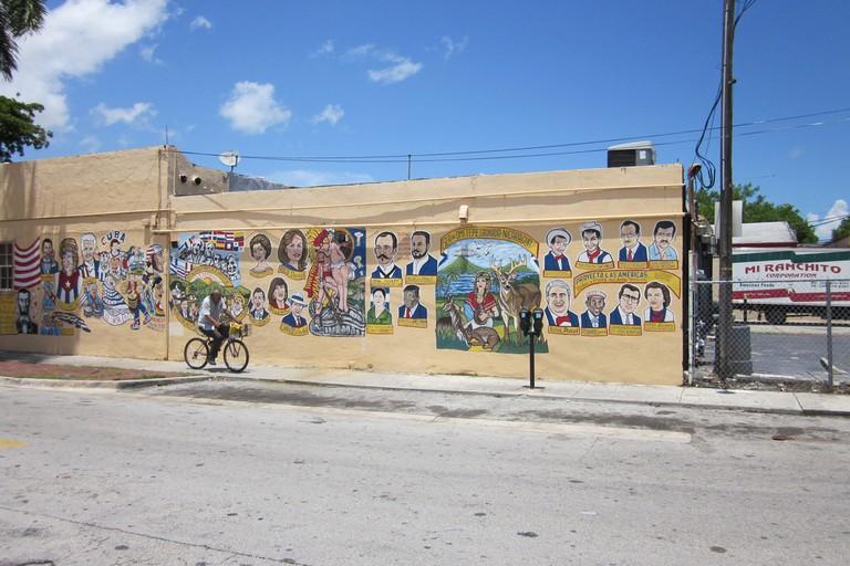 Little Havana Mural Bike