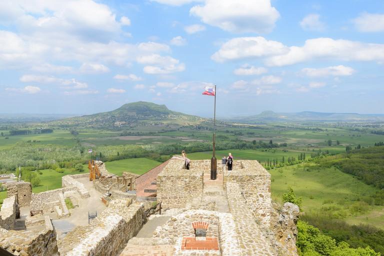 Szigliget castle. Veszprem region. Hungary