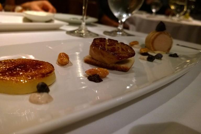 Fois gras trio