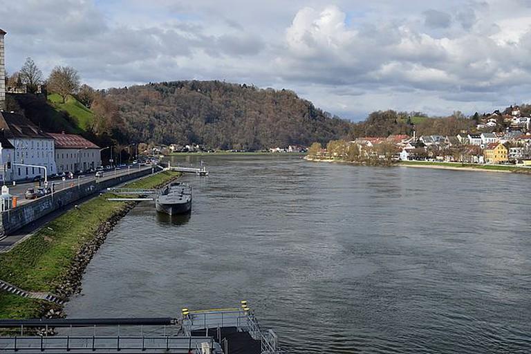 Danube in Linz