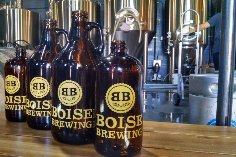Boise Brewing Growlers