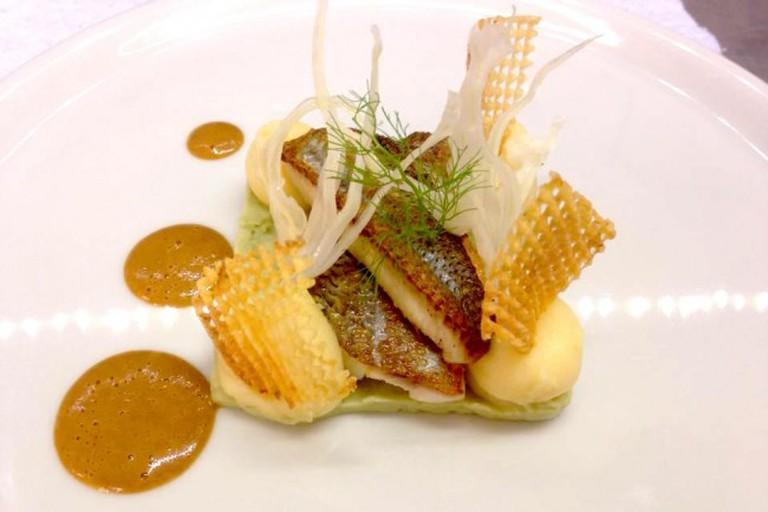 Fresh fish from Lake Geneva