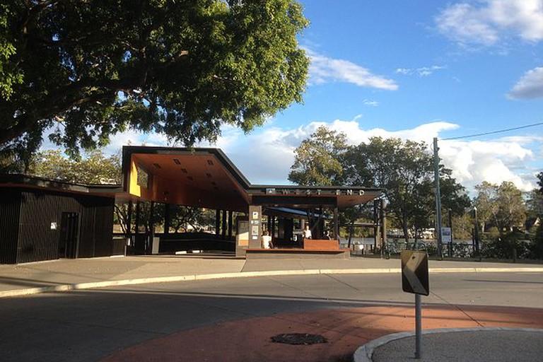 New West End ferry terminal, Brisbane