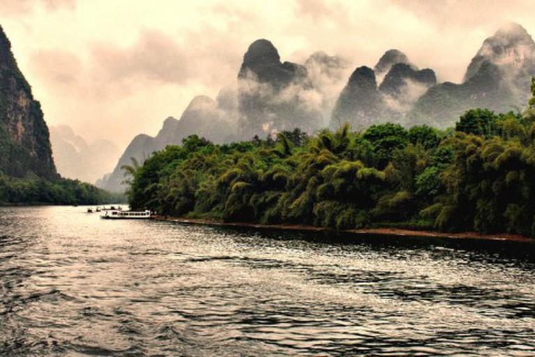 Hidden hills, Li River