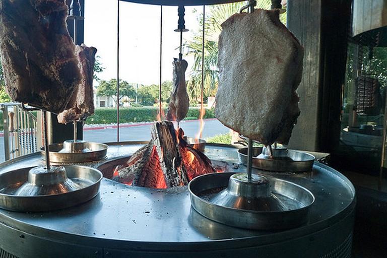 Roasting meats