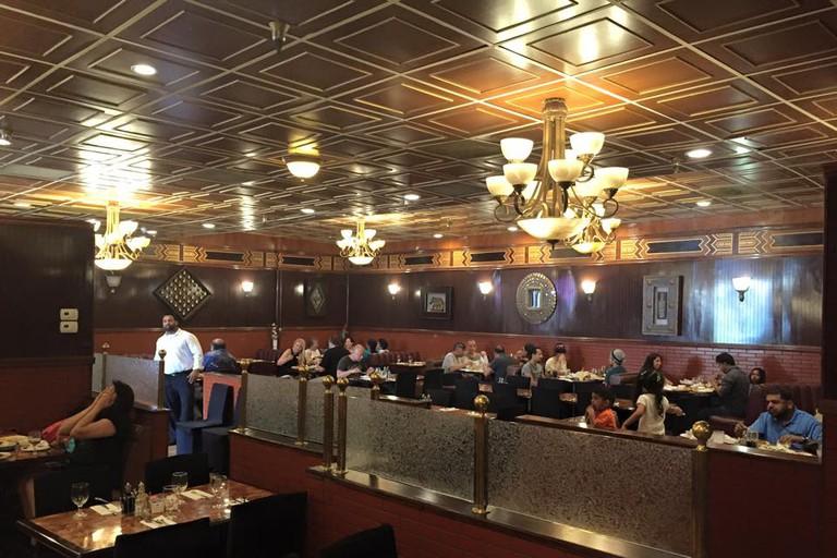 Mantra Indian Cuisine's interior