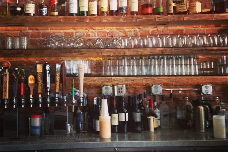 Top shelf Bar Terra GR Restaurant