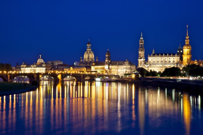 Dresden from Albertbrücke