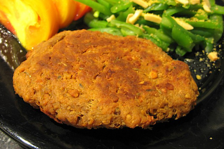 Vegan patty