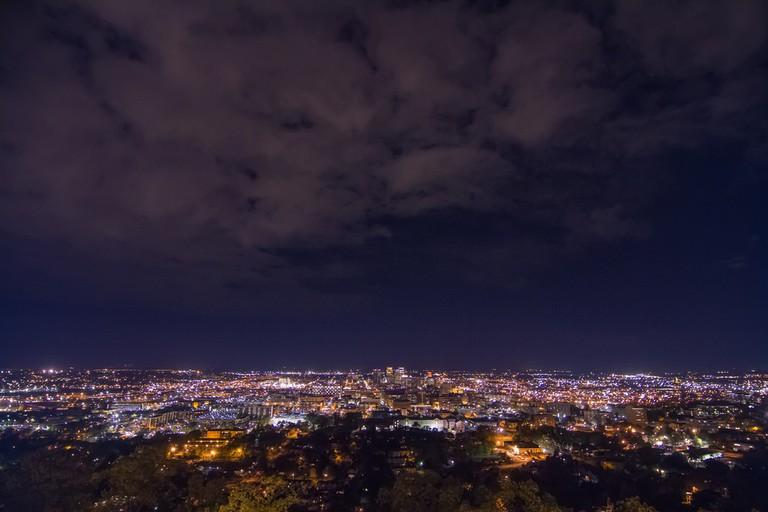 Birmingham from Vulcan Park