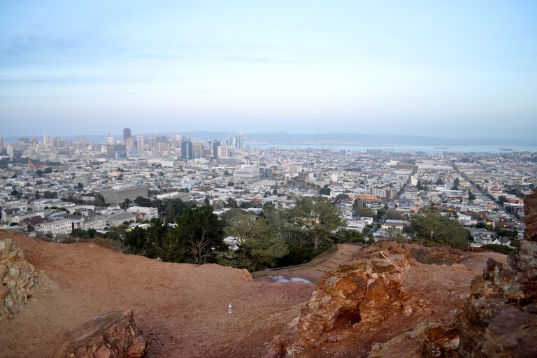 View from the top of the Corona Heights summit
