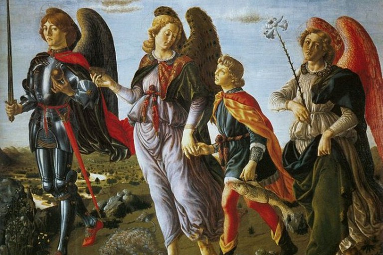 The Three Archangels with Tobias