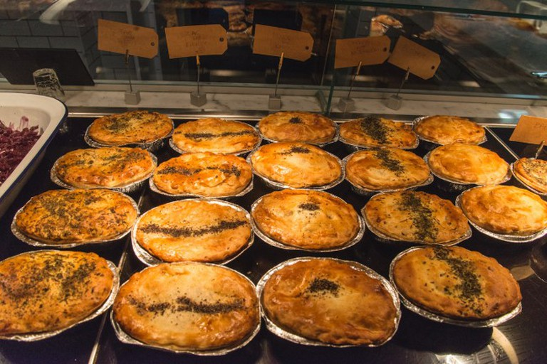 Rows of Pies
