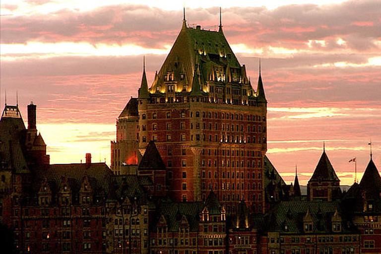 Le château Frontenac –Vieux-Québec/Old Quebec, ville de Québec/Quebec city