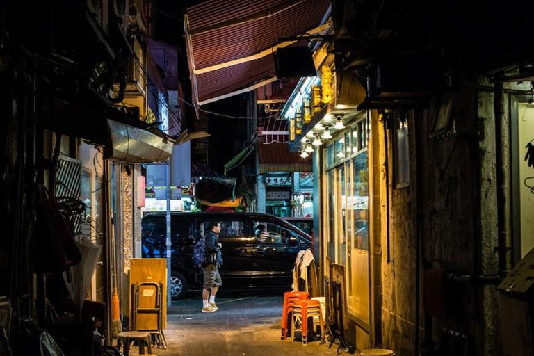 Hong Kong sidestreet