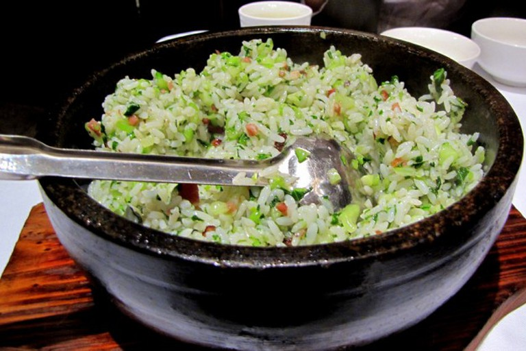 Shanghainese vegetable fried rice