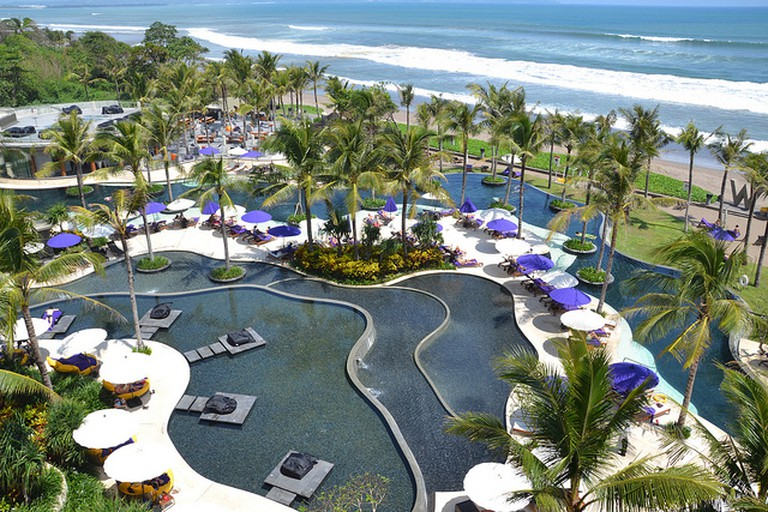 W Hotel Bali pool