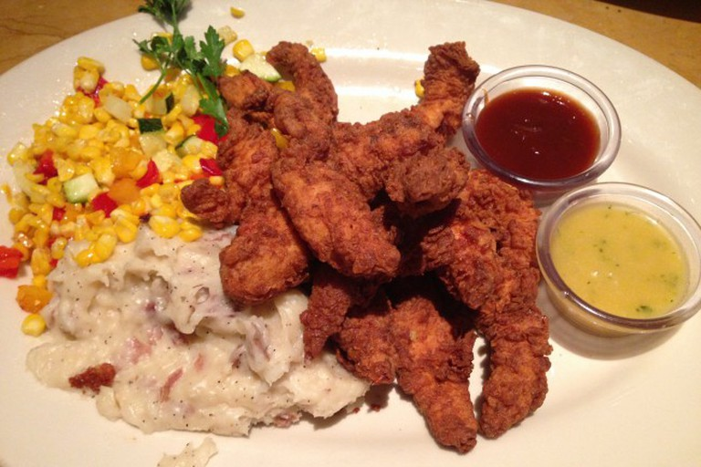 Cajun chicken tenders