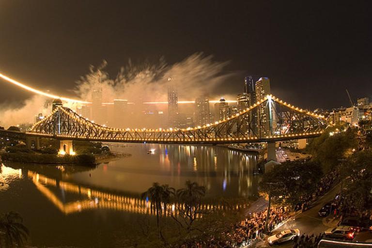 Brisbane Riverfire festival 2007
