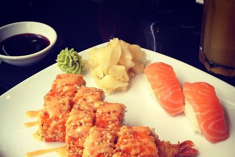 Sushi at Miyabi Mitte