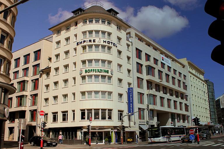 Empire Hotel Luxembourg Ville Gare April 2014