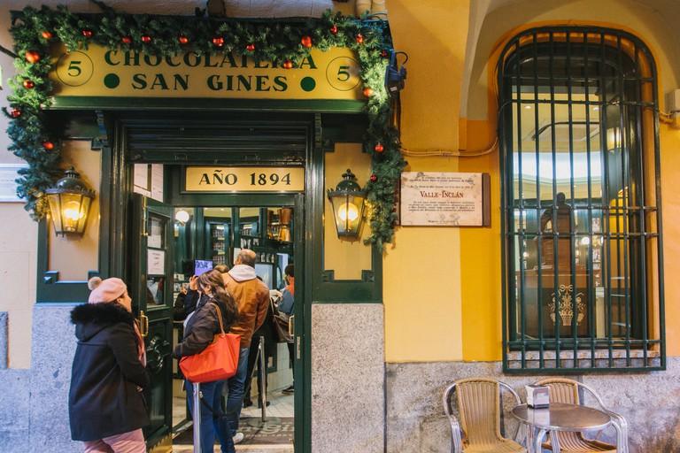 Chocolatería de San Ginés