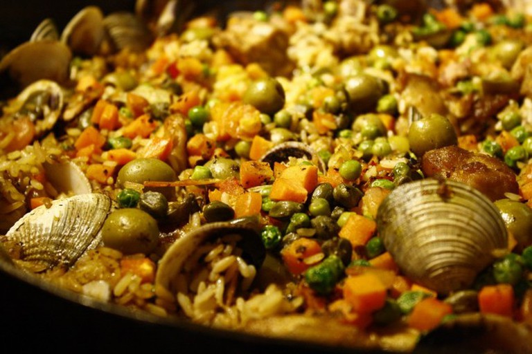 Seafood, Paella